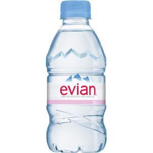 Minerálna voda Evian 0,33 ℓ / 24 ks PET