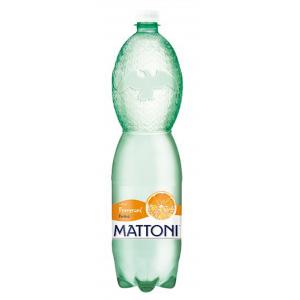 Minerálna voda MATTONI ochutená - pomaranč sýtená 6x1,5l
