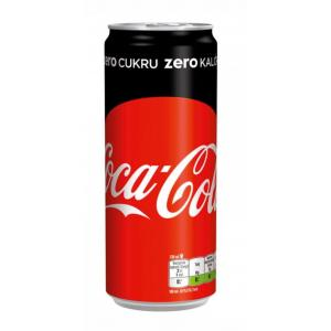 Coca Cola Zero plechovka 24 x 0,33l