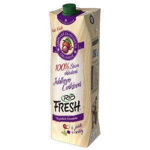 Džús RIO Fresh Jablko a cvikla 100% 1l