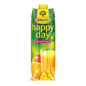 Džús Happy Day Pomaranč a mango 1l