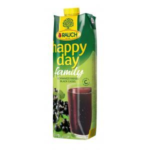 Džús Happy Day Family Čierna ríbezľa 25% 1l