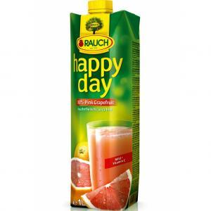 Džús HAPPY DAY ružový grep 1l