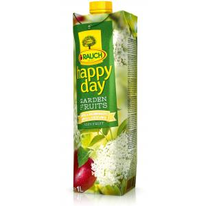 Džús HAPPY DAY Garden Fruits Jablko-baza 100% 1L