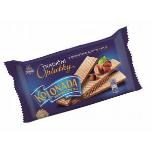 Oblátky Kolonáda Premium - oriešková čokoláda 140 g