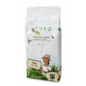 Káva Fairtrade Puro Fino zrnková 1kg