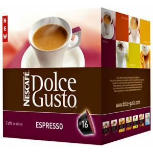 Kapsule Dolce Gusto Espresso 16 ks v bal.
