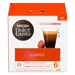Kapsule DOLCE GUSTO Caffé Lungo 112g
