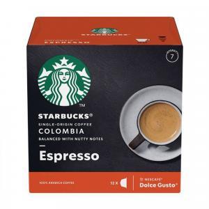 Kapsule Starbucks Espresso colombia 12ks