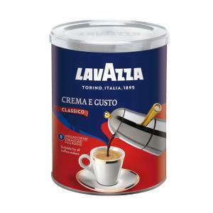 Káva LAVAZZA Crema e Gusto mletá 250g v dóze