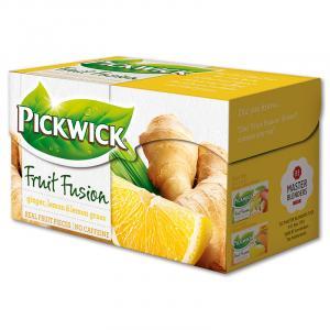 Čaj PICKWICK zázvor s citrónom 20x2g