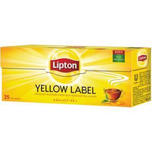 Čaj Lipton čierny Yellow Label 50g