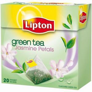 Čaj Lipton zelený Jasmine Petals pyramídy 36g