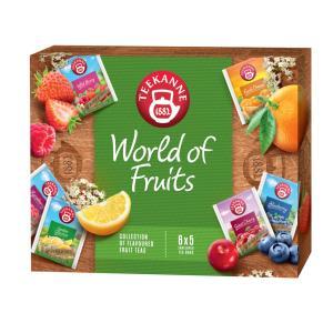 Kolekcia čajov TEEKANNE World of Fruits 144g