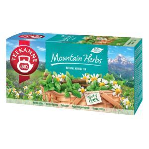 Čaj TEEKANNE bylinný 8 bylín/ Mountain Herbs 40g