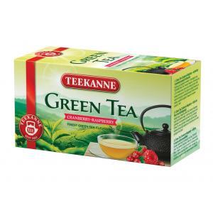Čaj TEEKANNE zelený Cranberry Raspberry 35g