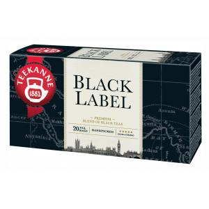 Čaj TEEKANNE čierny Black label 40g