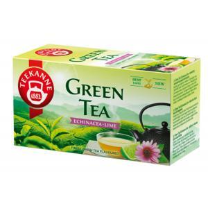 Čaj TEEKANNE zelený Echinacea a Limetka 35g