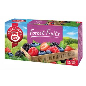 Čaj TEEKANNE ovocný Forest Fruits 50g