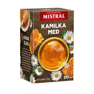 Čaj MISTRAL bylinný kamilka, med 30g