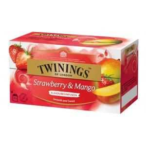 Čaj Twinings ovocný Strawberry & Mango 50g