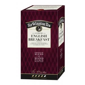 Čaj SIR WINSTON Supreme English Breakfast 36g