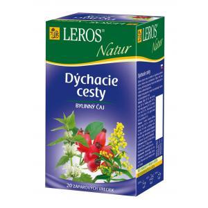 Čaj LEROS Natur bylinný na dýchacie cesty 10x1,5 g