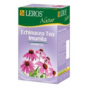 Čaj LEROS Natur bylinný na imunitu s echinaceou 10x2 g