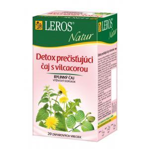 Čaj LEROS Natur bylinný Detox čistiaci čaj 10x1,5 g