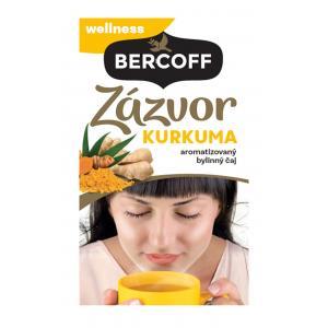 Čaj Bercoff zázvorový s kurkumou 40g