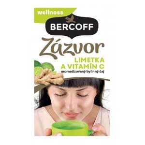 Čaj Bercoff zázvorový limetka s vitamínom C 36g