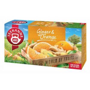 Čaj TEEKANNE ovocný Orange Ginger 45g