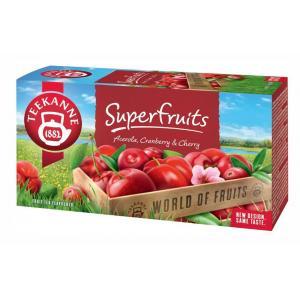 Čaj TEEKANNE ovocný Superfruits 50g