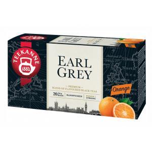 Čaj TEEKANNE čierny Earl Grey s pomarančom 20x1,65 g