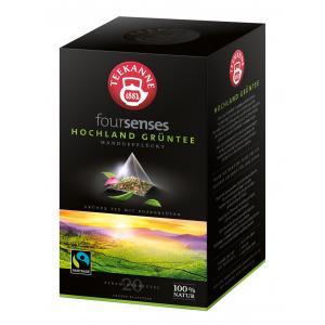 Čaj TEEKANNE FOURSENSES Hochland Grüntee Fairtrade 40g