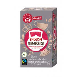 Čaj TEEKANNE Bio Organics English Breakfast 35g