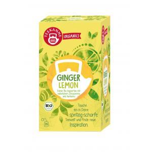 Čaj TEEKANNE Bio Organics Ginger Lemon 36g