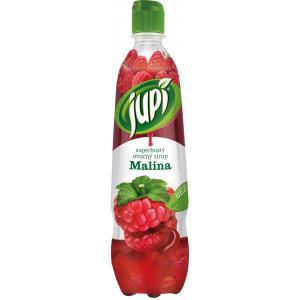 Sirup Jupi superhustý Malina 0,7L