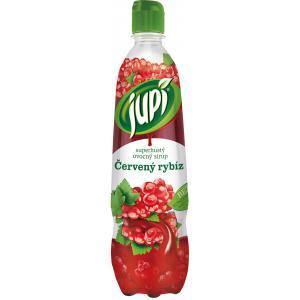 Sirup Jupi superhustý Červená ríbezľa 0,7L