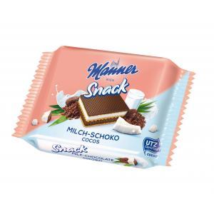 Oblátky Manner čokoládovokokosové 25g