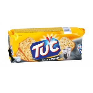 Krekry TUC solené a korenené 100g