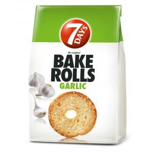 Bake Rolls 7 Days cesnakový 80g