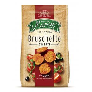 Bruschette Maretti paradajky, olivy a oregano