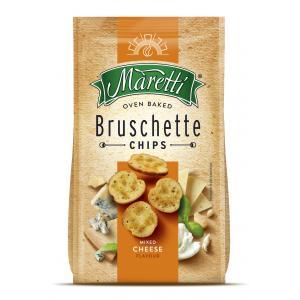 Bruschette Maretti štyri druhy syra