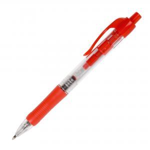Guľôčkové pero Q-CONNECT klikacie červené