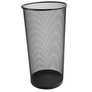 Drôtený odpadkový kôš 22,6 litrov čierny