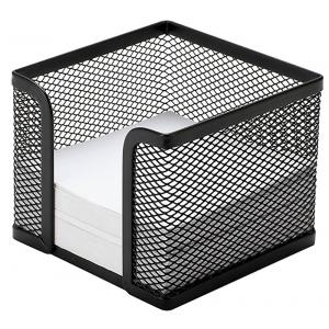 Drôtený stojan na blok kocka 95x80x95mm čierny
