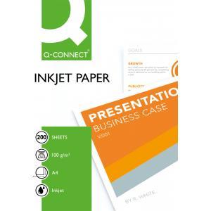 Foto papier Q-Connect matný, 100g, 200 hárkov