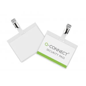 Visačka so štipcom zatvorená Q-Connect 90x60mm 25ks