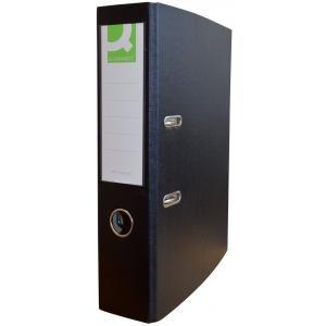 Zakladač pákový Q-connect 7,5cm čierny